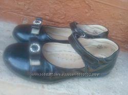 Туфли кожаные Берегиня
