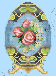 Набор для вышивки бисером Яйцо Фаберже Весенний сад