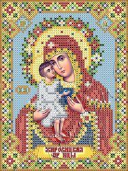 вышивка бисером Жировицкая икона БМ
