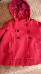 Пальто NEXT с капюшоном, на 4-5 лет, 110 см