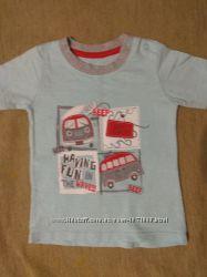 Фирменные футболки мальчику 9-18мес цена за обе