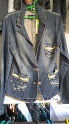 Куртка пиджак джинсовый новый размер XL