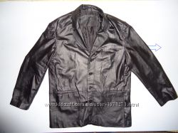 Куртка кожаная River пиджак XL