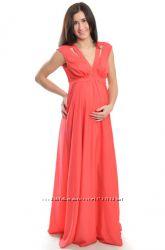 Нарядное платье для беременных 6001