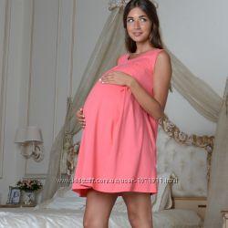 Ночная рубашка для беременных и кормящих 205-02