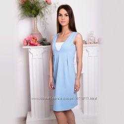 Ночная рубашка для беременных и кормящих 205-03-5