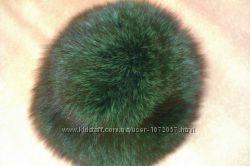 песцовая шапка натуральный мех