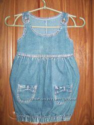 Джинсовый сарафанчик Gloria Jeans