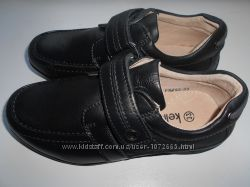 Кожаные школьные туфли на мальчика р. 35