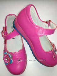 Кожаные туфли на девочку р. 27, 29