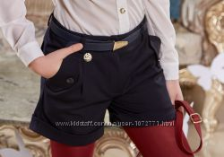 Школьная форма Suzie - шорты Пэгги черные 122