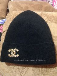 красивая тёплая шапка Шанель