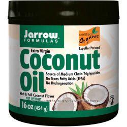 Натуральное органическое кокосовое масло Jarrow Formulas. В наличии