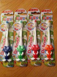 Dr. Brush kids. детская зубная щетка