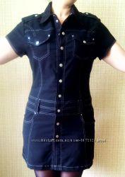 Платье черное 48-50р.