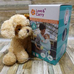 Трикотажний слінг-шарфт Love & Carry