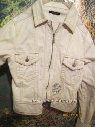 Скидка. Брендовая джинсовая куртка Roberto Covalli