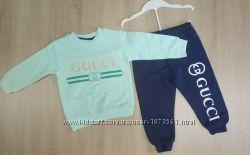 Спортивный костюм Gucci, мятный, 1, 5-5 лет