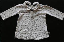 Блузка, рубашка F&F на 3-6 мес.