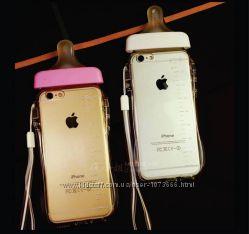 Силиконовый чехол на iPhone 6 и 6S в виде детской бутылочки