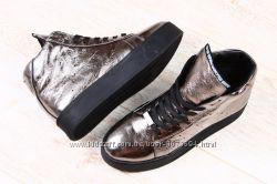 Кожаная зимняя обувь, спортивная, ботинки, криперы, полусапоги