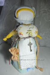 Кукла-мотанка Благополучница Ключница столбушка 20 см