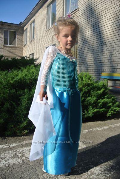 Прокат платья королевы Эльзы из Холодного сердца