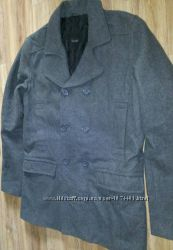 Фирменное пальто на высокий рост