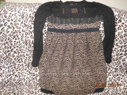 тепленькое платьице