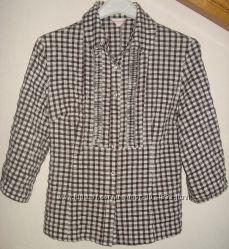 Блузка, кофточка в клеточку подростковая