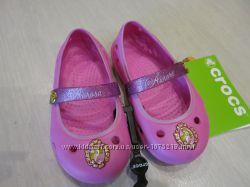 Крокс Crocs Keeley Disney Princess Flat оригинал С6