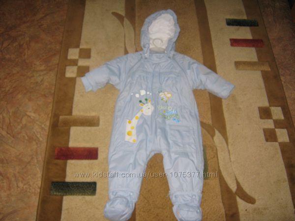 Детский  демисезонный комбинезон для мальчика