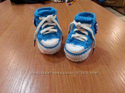 вязанные кроссовки