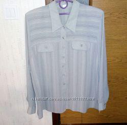 Рубашка, блуза лёгкая, 52-54р.