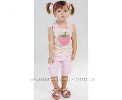 Літній костюм полуничка для дівчинки від ТМ Лютик