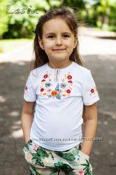 Вишиванки для дівчинки від ТМ Lesia короткий рукав