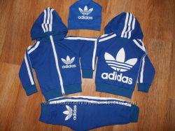 Детский спортивный костюм Адидас синий