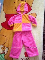 Новый мягенький костюм девочке 1-2 года