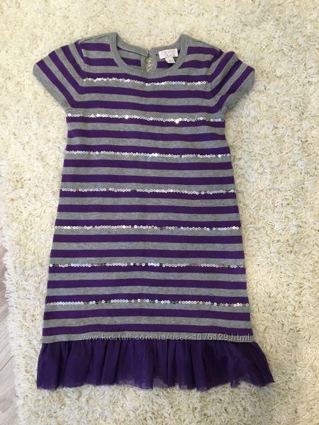 Вязаное платье-туника The Children&acutes Place на 7-9 лет,
