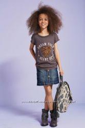 Джинсовая юбка NEXT на 12 лет, рост от 152 см
