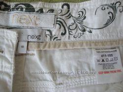 Белые шорты Next, белые капри