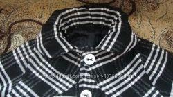 Пальто интересного фасона для маленькой модницы