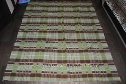 Покрывало 170142 см одеяло теплое зелено коричневое большое плотное