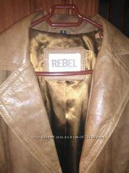 Кожаная куртка пиджак s Rebel 36