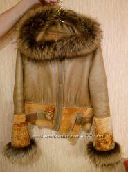 куртка дубленка натуральная двухсторонняя Турция