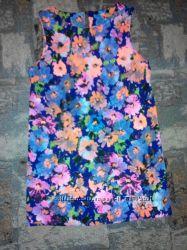 Платье разноцветное -48-50 размер14New Look