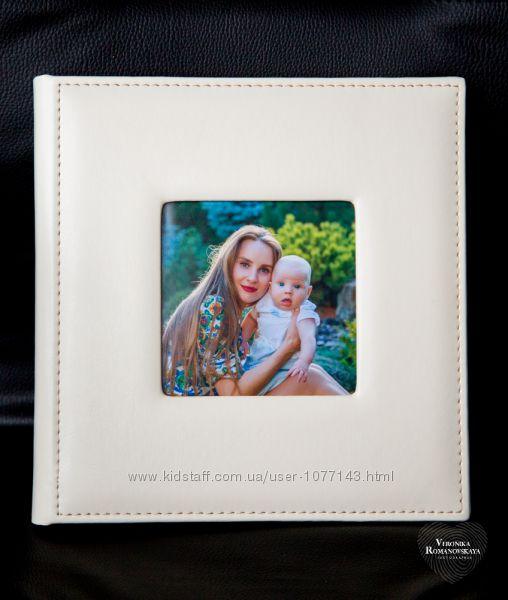 Детский фото альбом в виде фото книги. Проф. изготовление и печать фото кни