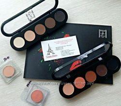 Палитры теней Make-Up Atelier Paris Ателье Ательер Франция