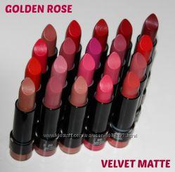 Матовая стойкая помада в стике  Velvet Matte Lipstickl  Golden Rose