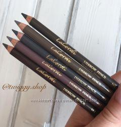 Восковые карандаши для бровей со щеточкой и без щеточки LaCordi Германия